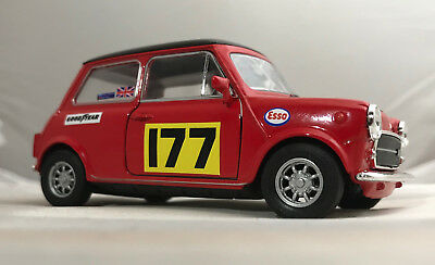 Schneidig Mini Cooper 1300 1:32 Scale Diecast Model New Monte Carlo Free Post Classic 100% Hochwertige Materialien