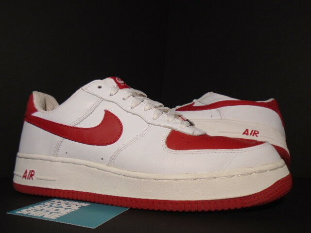 2018 Nike Air Force 1 Low WHITE VARSITY RED VALENTINE'S DAY 306353-161 11 Brand discount