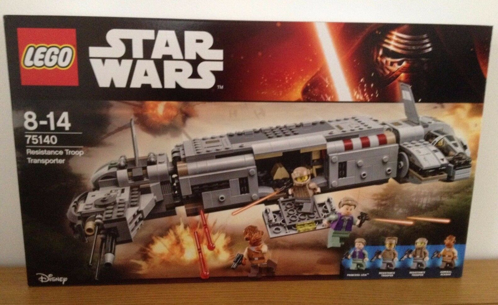 Lego Star Wars 75140 - Resistance Troop Transporter - Never Opened
