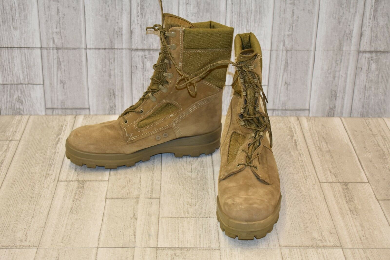 Bates M-8 Weather Boots, Men's Size 13 EW, Olive Mohave