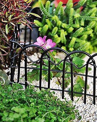 Buy 3 Save $5 Miniature Dollhouse Fairy Garden Black Wire Fence