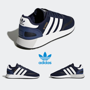 9486721b442 Adidas Original Iniki Runner N-5923 Shoes Running Navy White DB0961 ...