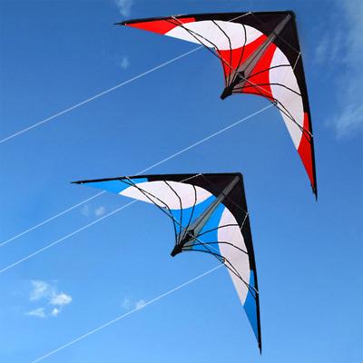 NEW 1.8m 70 In Stunt Surfing Triangle Delta Kite Outdoor Fun Sports Dual line
