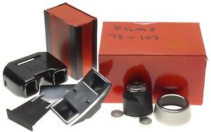 ZEISS IKON camera Stereo set 1427 viewfinder 50mm O 0 2-2 5m