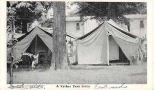 Mount Vernon Ohio Sychar Tent Scene Antique Postcard ...