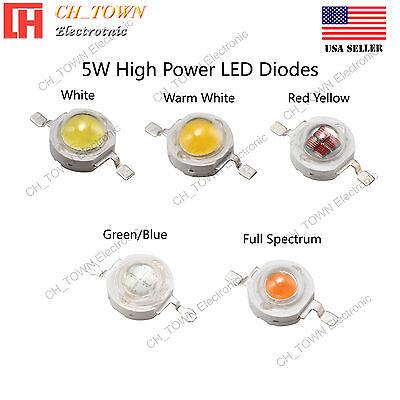 1Pcs 50W Watt High Power Yellow 585-595nm SMD LED Chip COB Lamp Lights