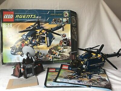 INSTRUCTION MANUAL ONLY LEGO AGENTS 2.0-8971 Aerial Defense Unit