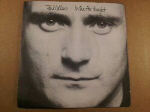 Phil-Collins-In-The-Air-Tonight-Vintage-7-034-Single-From-1981