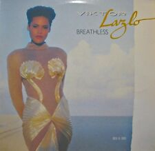 ++VIKTOR LAZLO breathless/don't say no MAXI 1987 POLYDOR VG++
