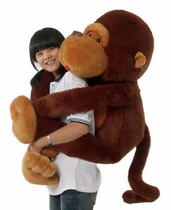 51 Customized Jumbo Giant Huge Stuffed Animal Teddy Monkey Plush