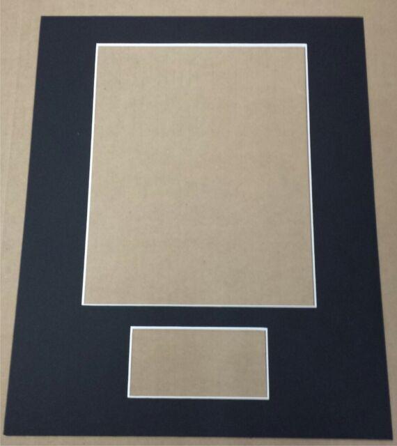 3 custom cut 11 x 14 mats for 8 x 10 photo 3 x 5 index card you pick