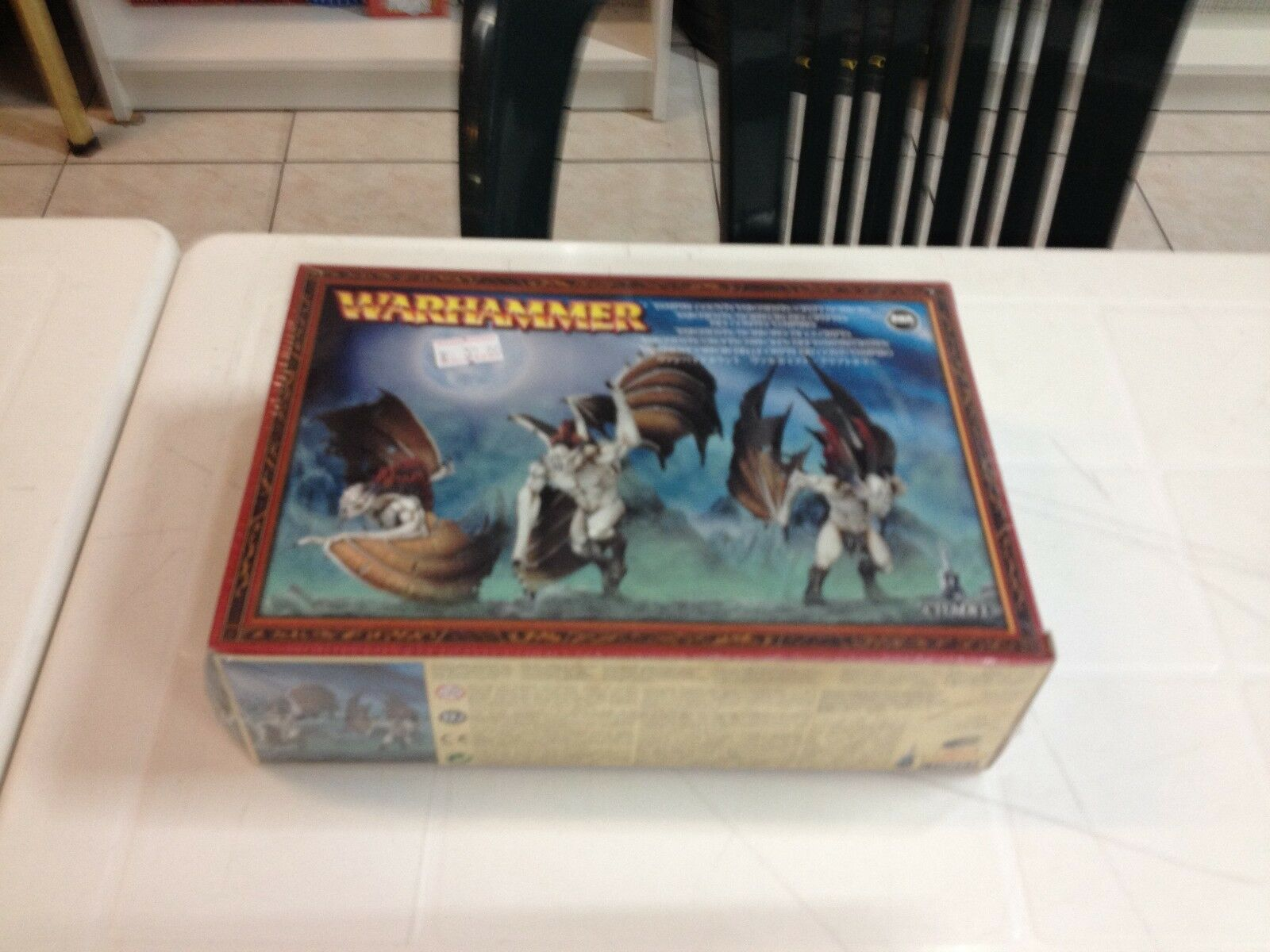 WARHAMMER FANTASY - VAMPIRE COUNTS VARGHEISTS CRYPT HORRORS - NEW