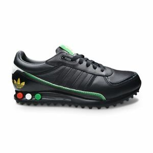 Details about Mens Adidas LA Trainer II - EH3556 - Black Green Red