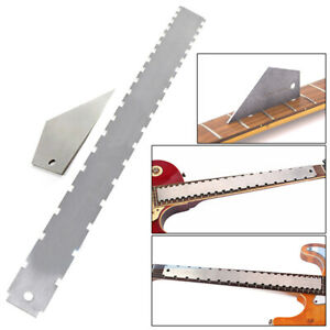 Pro-Designed-Guitar-Neck-Notched-Straight-Edge-and-Fret-Rocker-Luthier-Tools