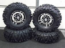 "26"" QUADKING ATV TIRE & COHORT ALUMINUM WHEEL KIT COMPLETE IRS1CA BIGGHORN"