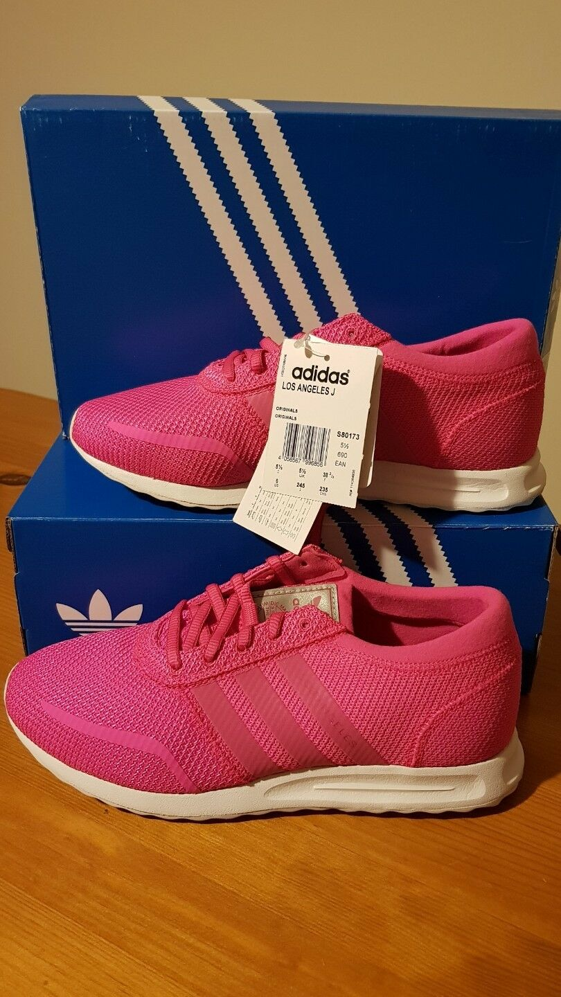 ADIDAS LOS ANGELES Couleur Rose Taille 5 1 2 (EUR 38 2 3) Bnwt
