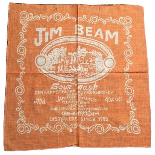 Moto USA Bandana Foulard Neuf Jim Beam Bourbon Whiskey
