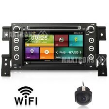 Car DVD GPS Player Nav Wifi For Suzuki Grand Vitara Nomade 2005-2014 Free Camera