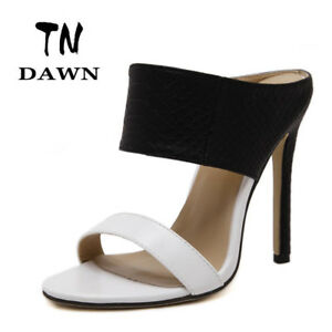 04040bbec48e4 Image is loading Beautiful-Women-Summer-High-heel-Sandals-Zapatos-Mujer-