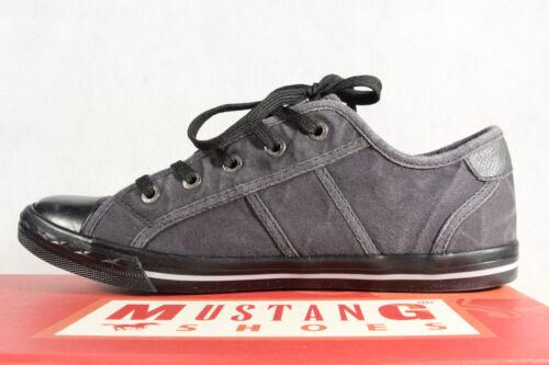 De Zapatillas Cordones Nueva Mustang Abotinados Zapatos Negras Deportivos 1099 qUSnwgp1