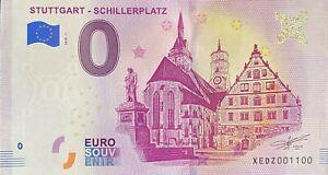 BILLET-0-EURO-STUTTGART-SCHILLERPLATZ-ALLEMAGNE-2018-NUMERO-1100