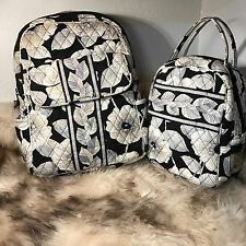 Vera Bradley Backpack And Lunch Tote - Retired Camellia Print