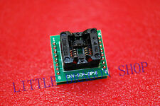 SOP8 turn DIP16 SOIC8 to DIP16 IC socket Programmer adapter 150mil A342