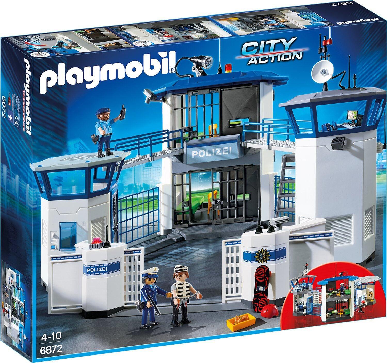 Playmobil - City Action -  6872 - Polizei-Kommandozentrale mit Gefängnis NEU OVP