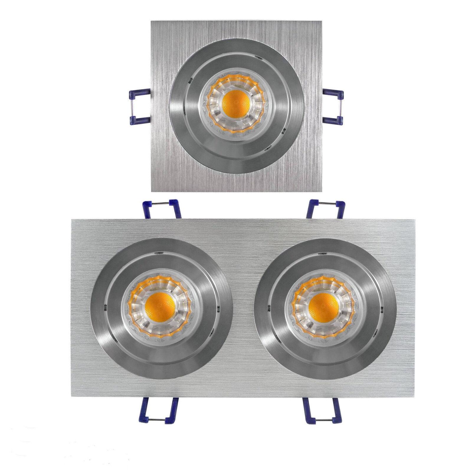 LED Einbaustrahler GU10 LED Einbauleuchte GU10 230 Volt Oberon COB LED GU10 230V