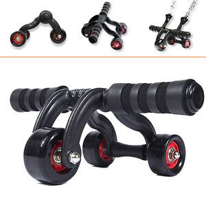 3 wheel fitness ab roller exercise training equipment. Black Bedroom Furniture Sets. Home Design Ideas