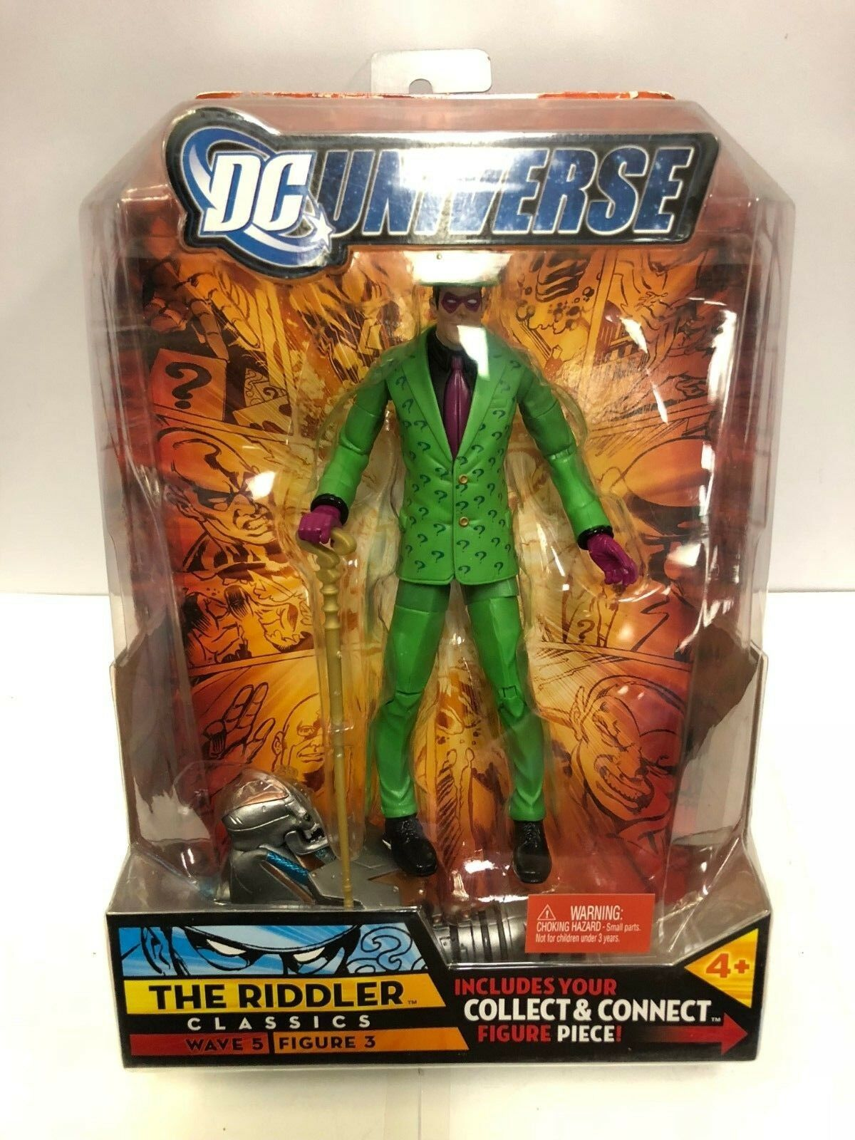 DC Universe Riddler Classics Wave 5 The Riddler Universe Figure Mattel 2008 32c8e7