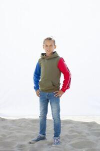 MOODSTREET-Jungen-Pullover-Sweatshirt-Kapuze-khaki-M002-6302-470