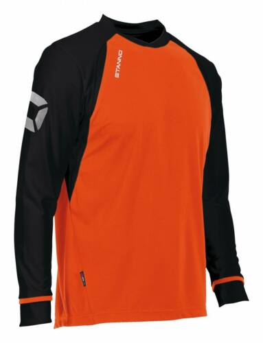 Vereinslose Trikots Stanno Liga Trikot Langarm orange-schwarz NEU 54545 Fußball