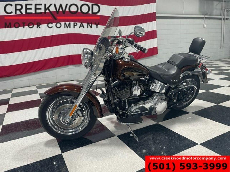 2009 Harley-Davidson FLSTF Softail Fat Boy Cruiser Low Miles Extras CLEAN