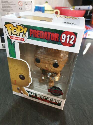 """Alan """"Dutch"""" Schaefer Rare Special Edition #912 Predator Funko Pop"""