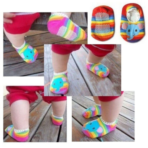 Top Sale New Baby Toddler Socks Slippers Childrens Anti Non Slip Socks Cute