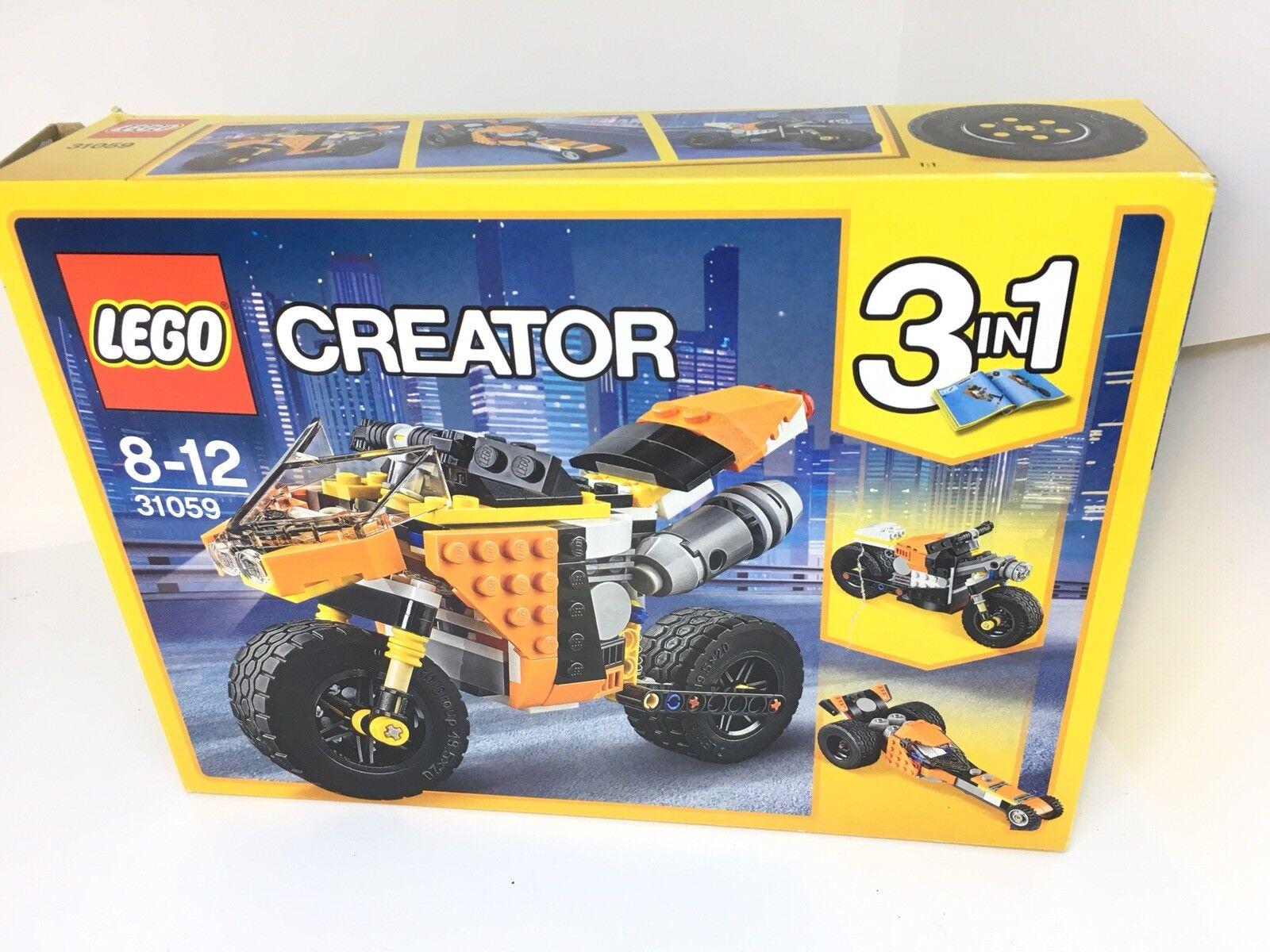 LEGO 31059 Creator Sunset Street Bike Building Toy