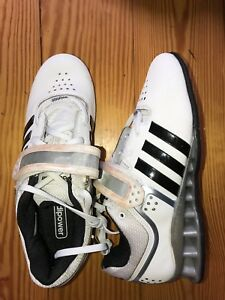 Image is loading new-ADIDAS-Adipower-Weight-Lift-M25733-White-Black-