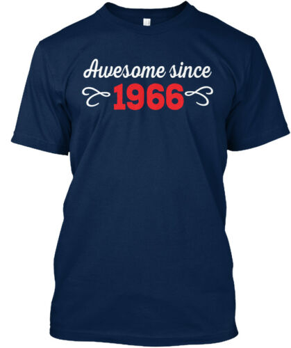 Standard Unisex T-shirt Standard Unisex T-shirt Latest Awesome Since 1966