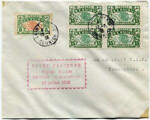 VOYAGE-D-039-ETUDE-REUNION-MADAGASCAR-LETTRE-DE-ST-DENIS-12-7-1938
