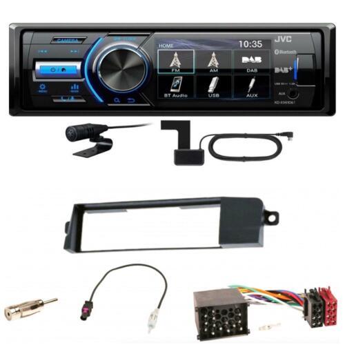 JVC kd-x561dbt Digital BLUETOOTH RADIO USB mp3 FLAC WAV Kit Installazione per BMW 3er e46