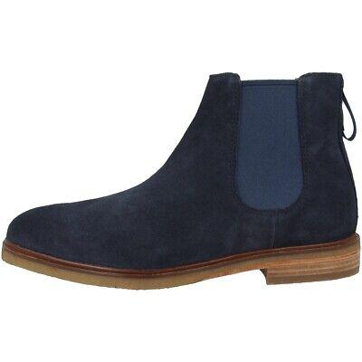 Clarks Clarkdale Gobi Men Schuhe Herren Chelsea Boots Stiefel Navy 26140242 Hindernis Entfernen