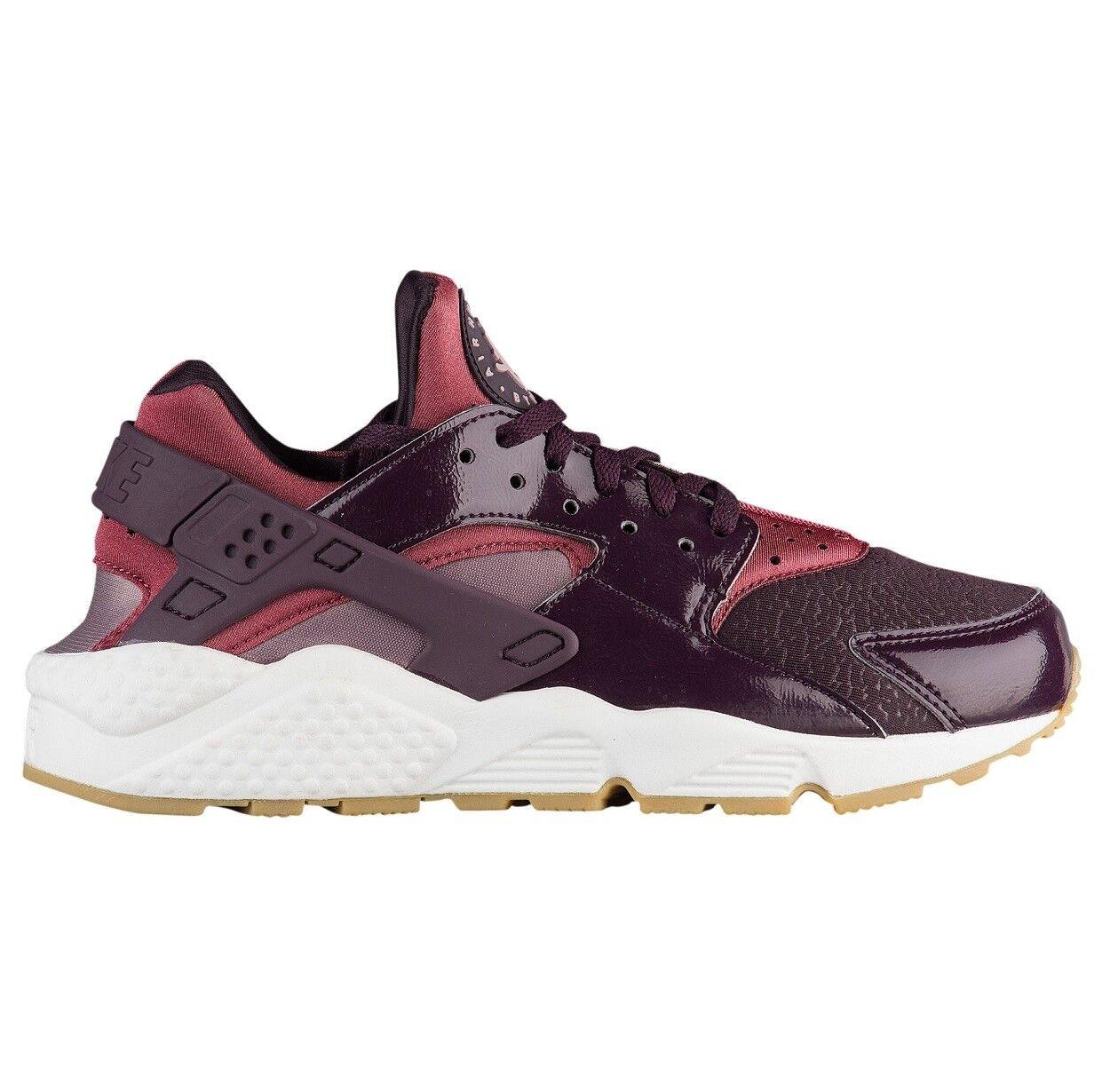 Nike Air Huarache Huarache Huarache Run Womens 634835-609 Port Wine Taupe Running shoes Size 7.5 9fdf4a