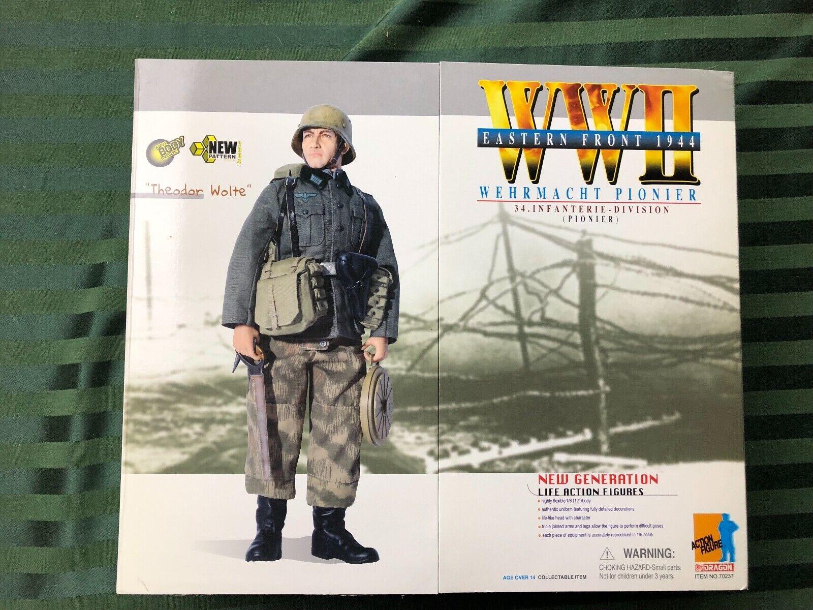 Dragon WWII Wehrmacht Pionier  Theodor Wolte  Eastern Front 1944