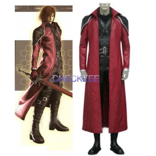 Final Fantasy VII Genesis Rhapsodos Halloween Cosplay Costume