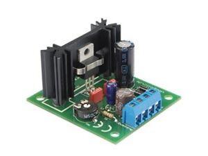 Spannungsregler AC//DC In 10-25V AC Out 1,5-26V DC 1,5A regelbar BAUSATZ S080