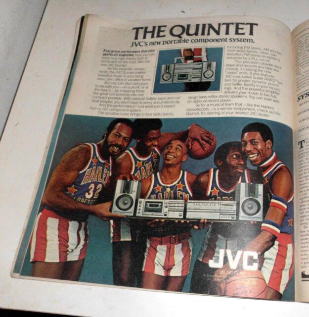 1981 Near Mint Print Ad Poster JVC The Quintet Harlem ...