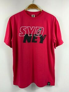 Sydney-Sixers-Big-Bash-League-Cricket-T-Shirt-Size-XL-by-Majestic-Official-Merch