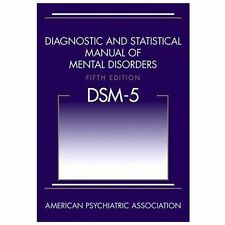 Diagnostic and Statistical Manual of Mental Disorders DSM-5 by American Psychiatric Association Staff and Carolyn Kernberger (2013, Hardcover, Revised)