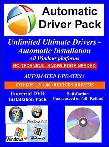 Sony vaio drivers pack dvd for windows 10 8 7 vista xp 32/64 bit.